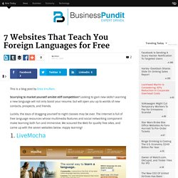 7 Websites That Teach You Foreign Languages for Free | Business