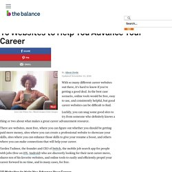 10 Websites to Help You Advance Your Career