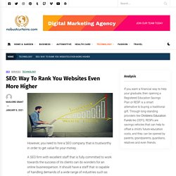 SEO: Way To Rank You Websites Even More Higher - NoBust Curtains