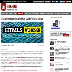 HTML5 CSS3 Websites Design