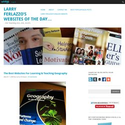 The Best Websites For Learning & Teaching Geography
