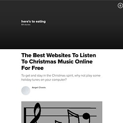The Best Websites To Listen To Christmas Music Online For Free | Suite101.com