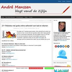 """21+ Websites met gratis online oefenstof voor taal en rekenen « Manssen.nl ~ """"It's all in the Cloud!"""""""