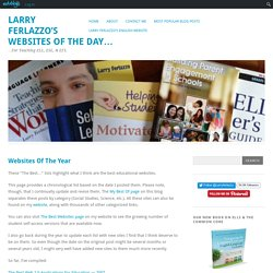 Websites Of The Year