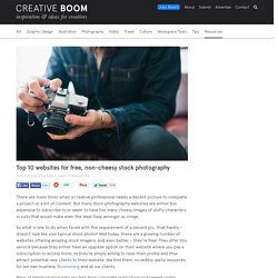 Top 10 websites for free, non-cheesy stock photography