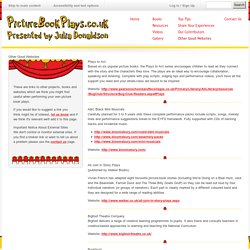 Other Good Websites - Picture Book Plays - Presented by Julia Donaldson