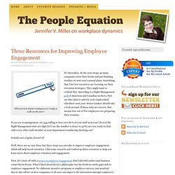 Websites with research on employee engagement and company culture