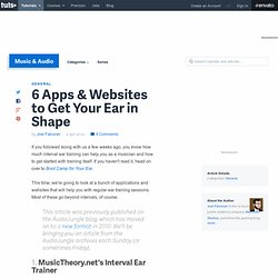 6 Apps & Websites to Get Your Ear in Shape