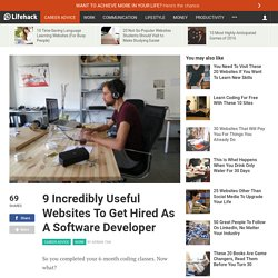9 Useful Websites To Get Hired As A Software Developer