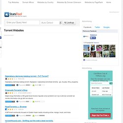 Torrent Websites Page 3 - StatsTool -Check Website Domain Stats,Analysis,Ranking And Seo Report
