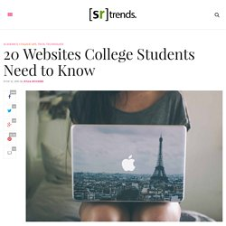 20 Websites College Students Need to Know – SRtrends