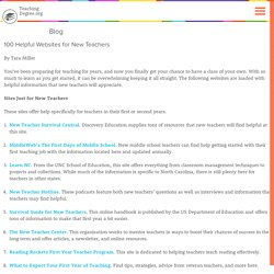 100 Helpful Websites for New Teachers