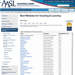 Best Websites for Teaching & Learning
