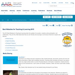 Best Websites for Teaching & Learning 2015