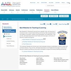 *Best Websites for Teaching & Learning (scan)