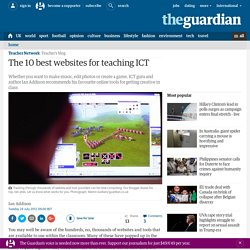 The 10 best websites for teaching ICT