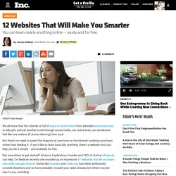 12 Websites That Will Make You Smarter