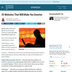 25 Websites That Will Make You Smarter