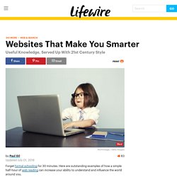 Websites That Will Make You Smarter
