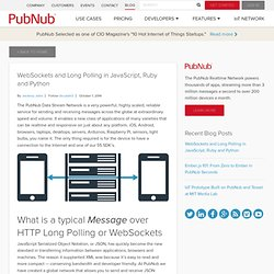 WebSockets and Long Polling in JavaScript, Ruby and Python - PubNub
