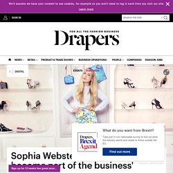 Sophia Webster: 'Social media has become part of the business'