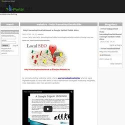 webstramarketing - G-Portál
