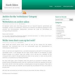 webteksten