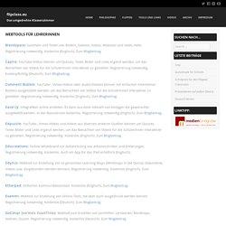 Webtools für LehrerInnen – flipclass.eu