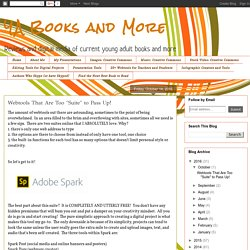 "YA Books and More: Webtools That Are Too ""Suite"" to Pass Up!"