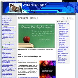 webtools4u2use.wikispaces