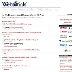 Webtorials