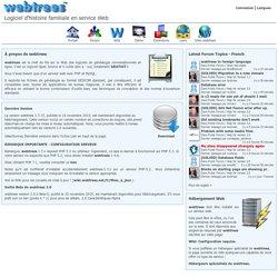 webtrees - Portail