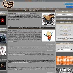 Webzine et communauté dédié aux musiques METAL et dérivés - Since 1999