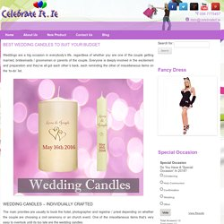 Best Wedding Candles To Suit Your Budget
