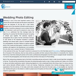 wedding photo editing - clipping path