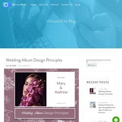 Wedding Album Design Principles