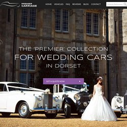 Wedding Transport Services in Dorset From Premier Carriage