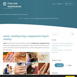 Jared - wedding rings, engagement rings & Jewelry
