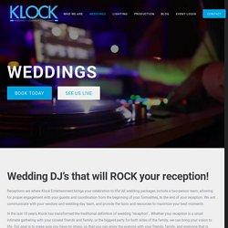 Wedding DJ and Wedding Entertainment