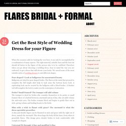 Get the Best Style of Wedding Dress for your Figure