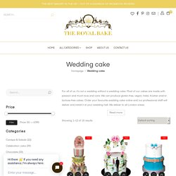Best Wedding Cake Online Delivery London