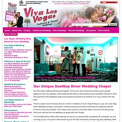 The DooWop Wedding Chapel - Elvis Wedding packages - Get married by Elvis in Vegas