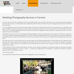 Wedding Photography In Toronto - Piper media