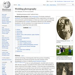 Wedding photography - Wikipedia
