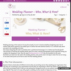 Why to Hire Wedding planner-Royal Elephants