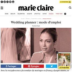 Wedding planner : mode d'emploi