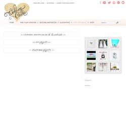 Custom Wedding Printables - Free Wedding Invitations