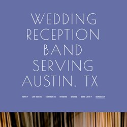 Wedding Band Services in Austin, TX