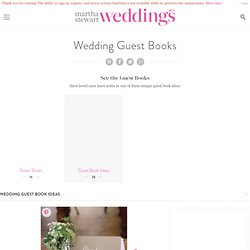 DIY Weddings | Martha Stewart Weddings