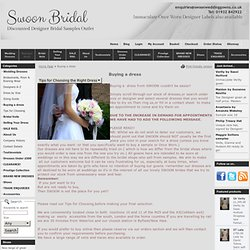 buying a swoon wedding gown or dress at swoon www.swoonweddinggowns.co.uk